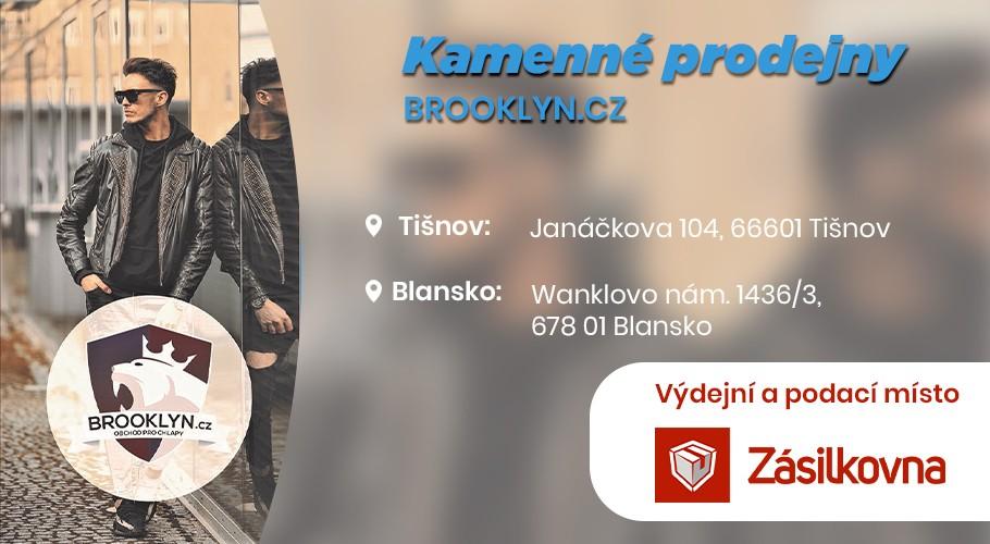 Kamenná prodejna Brooklyn.cz Blansko